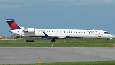 A picture of N311PQ - Mitsubishi CRJ900LR - Delta Air Lines - © Jason Whitebird