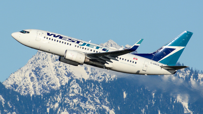 A picture of CGWCN - Boeing 7377CT - WestJet - © Chung Kwok