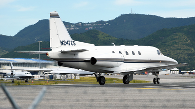 N247CS - Rockwell Sabreliner 65 - Private