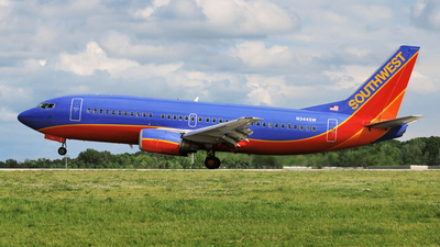 N344SW - Boeing 737-3H4 - Southwest Airlines