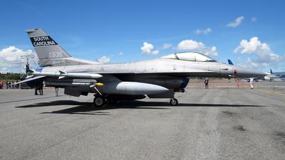 93-0535 - Lockheed Martin F-16C Fighting Falcon - United States - US Air Force (USAF)
