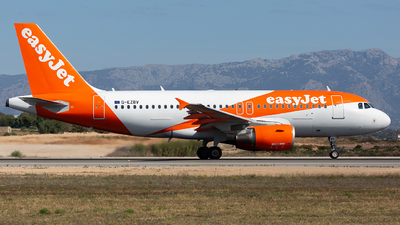 G-EZBV - Airbus A319-111 - easyJet