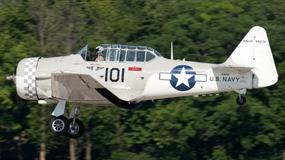 N101RF - North American SNJ-5 Texan - Private