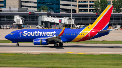 A picture of N767SW - Boeing 7377H4 - Southwest Airlines - © Mateo Skinner