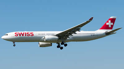 A picture of HBJHE - Airbus A330343 - Swiss - © Rosser