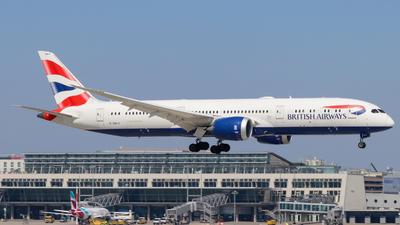 A picture of GZBKO - Boeing 7879 Dreamliner - British Airways - © Justin Stöckel