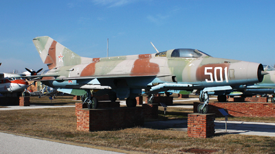 501 - Mikoyan-Gurevich MiG-21F-13 Fishbed C - Bulgaria - Air Force