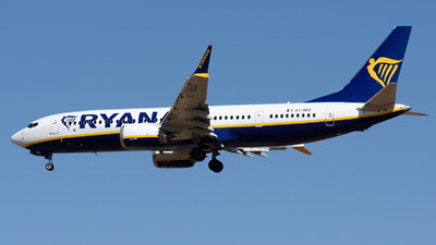 EI-HGO - Boeing 737-8-200 MAX - Ryanair