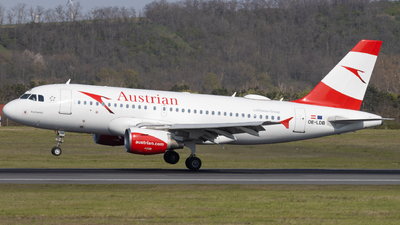 A picture of OELDB - Airbus A319112 - Austrian Airlines - © Alexander Jeglitsch
