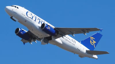 5B-DBO - Airbus A319-132 - Cyprus Airways