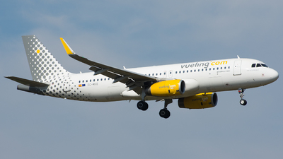 EC-MKO - Airbus A320-232 - Vueling Airlines
