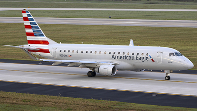A picture of N256NN - Embraer E175LR - American Airlines - © Andrew Hutnyan