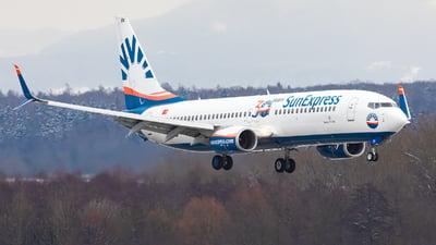 A picture of TCSOV - Boeing 7378HC - SunExpress - © Bianca Renz
