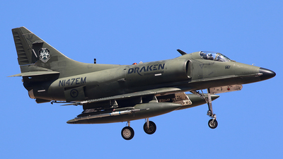 N147EM - Douglas A-4K Skyhawk - Draken International