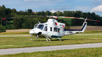 D-HAFW - Bell 412SP - GHS - Global Helicopter Service