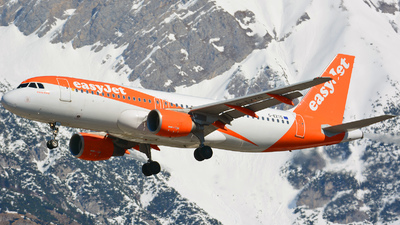 A picture of GEZTG - Airbus A320214 - easyJet - © Andreas Stoeckl