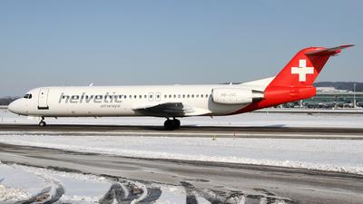 HB-JVC - Fokker 100 - Helvetic Airways