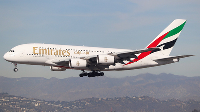 A picture of A6EOG - Airbus A380861 - Emirates - © yyj_plane_spotter