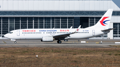 A picture of B7590 - Boeing 73789P - China Eastern Airlines - © Lazy Clutch