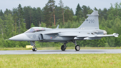 39290 - Saab JAS-39C Gripen - Sweden - Air Force