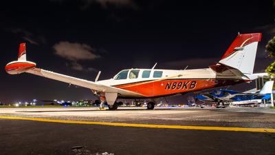 N89KB - Beechcraft A36TC Bonanza - Private