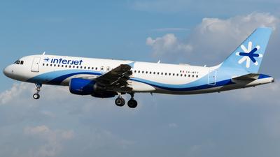 XA-MTY - Airbus A320-214 - Interjet