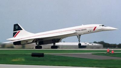 G-BOAE - Aérospatiale/British Aircraft Corporation Concorde - British Airways