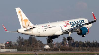 CC-AWM - Airbus A320-271N - JetSmart