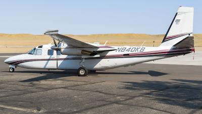 N840KB - Gulfstream 690C Turbo Commander - Private