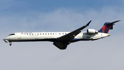 A picture of N186PQ - Mitsubishi CRJ900LR - Delta Air Lines - © DJ Reed - OPShots Photo Team
