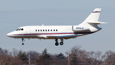 N926JC - Dassault Falcon 2000 - Private
