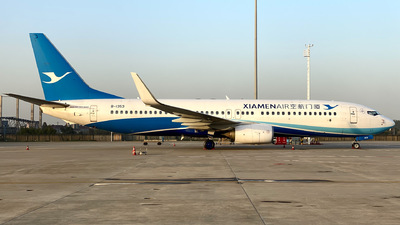 A picture of B1353 - Boeing 73785C - Xiamen Air - © CN-ZSHC