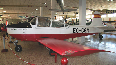 EC-CGM - MBB 223-A1 Flamingo - Spain - Civil Aviation Authority