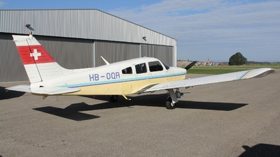 HB-OQR - Piper PA-28R-200 Cherokee Arrow II - Private