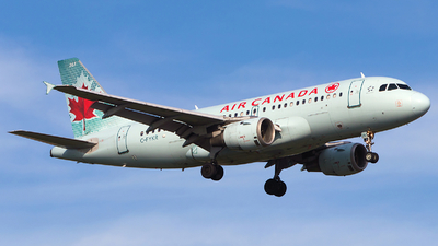 A picture of CFYKR - Airbus A319114 - Air Canada - © Alex I.