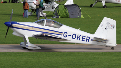 A picture of GOKER - Van's RV7 - [PFA 32314233] - © Terry Figg