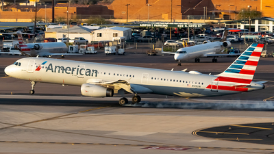 A picture of N519UW - Airbus A321231 - American Airlines - © Ricky Teteris