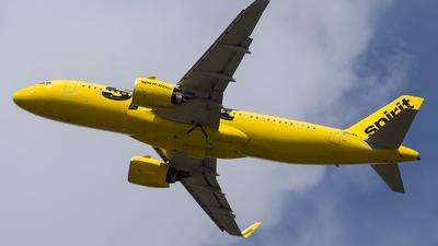 N916NK - Airbus A320-271N - Spirit Airlines