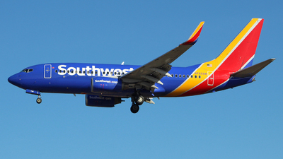 A picture of N792SW - Boeing 7377H4 - Southwest Airlines - © wangruoyao