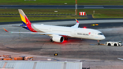 HL8308 - Airbus A350-941 - Asiana Airlines