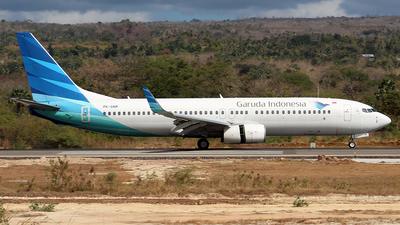 PK-GNM - Boeing 737-8U3 - Garuda Indonesia
