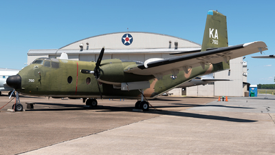 63-9760 - De Havilland Canada C-7A Caribou - United States - US Air Force (USAF)