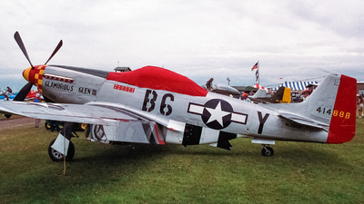 NL551CB - North American P-51D Mustang - Private