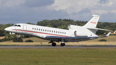 N2239X - Dassault Falcon 8X - Private