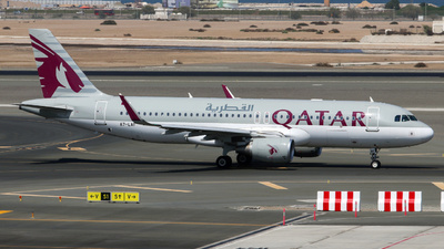 A picture of A7LAF - Airbus A320214 - Qatar Airways - © Timo Frieg