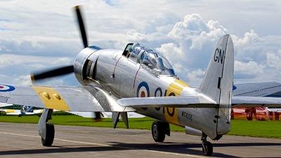 G-INVN - Hawker Sea Fury T.20 - Private