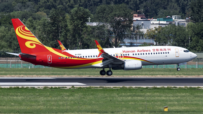 B-1501 - Boeing 737-84P - Hainan Airlines