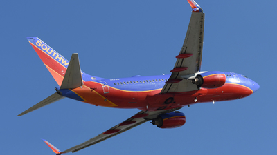 A picture of N7751A - Boeing 7377BD - Southwest Airlines - © DJ Reed - OPShots Photo Team