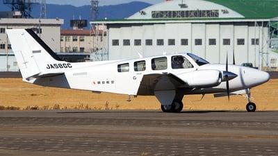 JA58GC - Beechcraft G58 Baron - Asahi Air