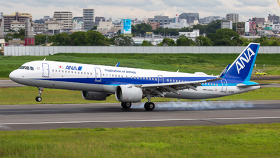 A picture of JA133A - Airbus A321272N - All Nippon Airways - © Tokubee